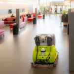 Reinigungsroboter Adlatus in der Asklepios Klinik Barmbek_1